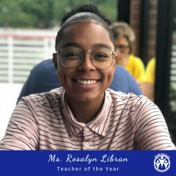 Rosalyn Libran - Teacher of the Year